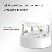 1pc Ultrasonic Wind Speed And Direction Sensor Light Temperature Humidity