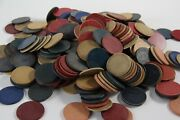 Vintage Poker Chips -- Clay, Bakelite, Etc. -- Over 300 -- Various Sizes {a11}