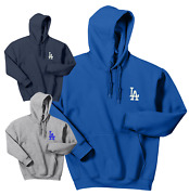 Los Angeles Dodgers Hooded Sweat Shirts Embroidered