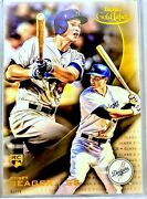2016 Gold Label Class 2 Corey Seager Rookie Jumbo 5x7 Rc Gold 1/10 First One