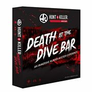 Hunt A Killer Death At The Dive Bar Immersive Murder Mystery Game 1-5 Player New