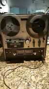 Akai Gx-210d Auto-reverse/3 Motor Stereo Tape Deck Reel-to-reel Great Condition