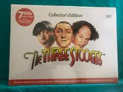 The Three Stooges Collectors Edition Dvd, 2011, 7-disc Set factory Sealed.