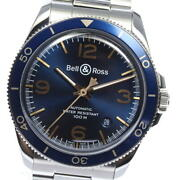 Bell&ross Brv2-92 Date Blue Dial Automatic Menand039s Watch_563195