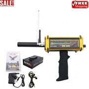 Gr-200 Long Range Metal Gold Detector Underground 100m W/3d Led Display 2antenna
