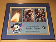 Rare Nasa Space Flown Space Shuttle Discovery 51-d Patch/boy Scouts Merit Badge