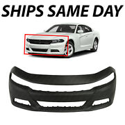 New Primered - Front Bumper Cover Fascia For 2015-2020 Dodge Charger Se Rt Sxt