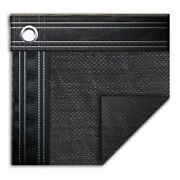 25and039 X 45and039 Rectangle In-ground Swimming Pool Mesh Winter Cover 10 Year - Black