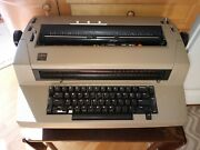 Vintage Ibm Selectric Ii Typewriter. Works Great Ink/correction Tape Included.