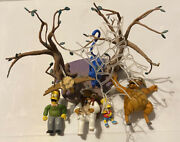 Mcfarlane Toys The Simpsons Lot - The Island Of Dr Hibbert Deluxe Loose Figures