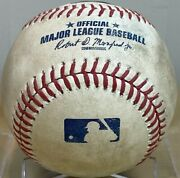 Blake Snell Career K 420 Game-used Strikeout From 21st Win Of Cy Young Yr Padre