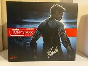 Autographed By Stan Lee Hot Toys Iron Man 3 Tony Stark Mms 191