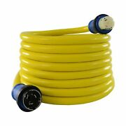 Conntek 50 Amp 125/250-volt Marine Shore Power Extension 4 Wires Cord With Th...