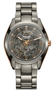 New Rado Hyperchrome Automatic Open Heart Grey Dial Menand039s Watch R32021102