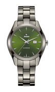 Rado Hyperchrome Automatic High-tech Ceramic Green Dial Womenand039s Watch R32041312