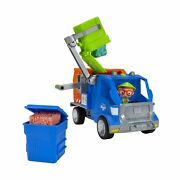 Blippi Recycling Truck - Includes Character Toy Figure Working Lever 2 Tras...
