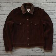 New Vintage Clothing Lvc 1960's Suede Leather Trucker Jacket Type 3 02