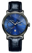 Rado Diamaster Automatic Power Reserve Blue Dial Lthr Band Menand039s Watch R14138206
