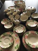 Franciscan Desert Rose China 92 Pieces Made In Usa Andengland.