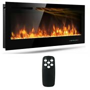 50 Electric Fireplace Recessed Insert Or Wall Mounted Standing Electric Heater