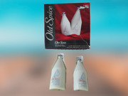 Vintage New Old Spice Cologne And Aftershave Gift Box Set 4.25 And 2.5oz Star Top