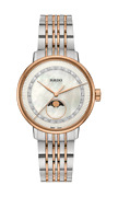 Rado Coupole Classic Diamonds Moon Phase Mother Of Pearl Womenand039s Watch R22883953