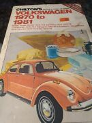 Chiltons Volkswagen 1970-to 1981 Repair And Tune-up Guild