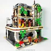 City Town Diner 10260 Adapted From The Lego Movie Custom Modular Building