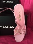 Shoes - Sexy Spaghetti Strap Ankle Wrap Heels Bnib - Authentic Size 38
