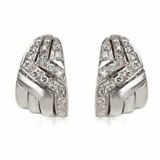 1.70ct Natural Diamond G-h Clip Earring In 18k White Gold Si1
