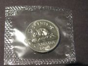 1964 Canadian Five Cents Coin P/l From The Set Sealed