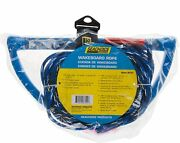 Seachoice 3-section Wakeboard Rope 65 Feet Long 15 Inch Handle With Text