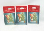 3 Pkgs Vintage Betsey Clark Tiny Tags Cards Gift Labels Christmas Tree Girl Cat
