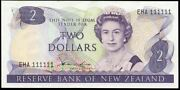 New Zealand - 2 - Hardie And039type 2and039 - Eha 111111 - Solid Serial - Almost Uncircul
