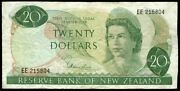New Zealand - 20 - Hardie And039type 1and039 - Ee215804 - First Prefix - Fine