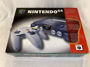 Nintendo 64 N64 Target Launch Kit Promotional Launch Day System Near Mint