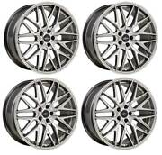 4 Jantes Oxigin 25 Oxcross 9x20 Et38 5x114 Silp Pour Ford Mustang