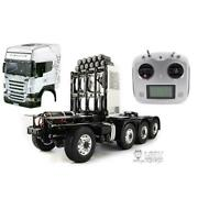 1/14 Lesu Rc Tractor Truck Metal Chassis Diy Hercules Highline Scania Cab I6s