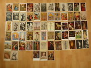 Convolute Collection Lot 65 Old Postcards Religion Christus Maria Holy