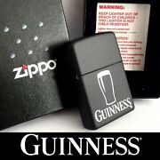 Brand New Collectible 2004 Zippo Guinness Lighter + Original Box And Instructions