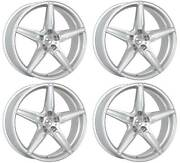 4 Alloy Wheels Oxigin 21 Oxflow 9x20 Et38 5x114 Sil For Ford Mustang