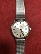 Omega Vintage Geneve From1973 166.0163 Men 's Used Wrist Watches