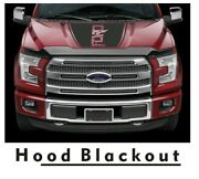 New Ford F150 F-150 Force Hood Solid Splash Mud Color Decals Vinyl Free Ship