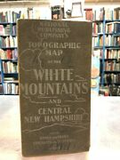 Topographic Map Of The White Mountains. National Publishing Company. 1902.