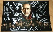 The Walking Dead Cast Signed Autographed Photo Andrew Lincoln Norman Reedus Coa