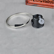 Led Light 15x Magnifying Glasses Loupe Magnifier For Watch Repair One Eye Stamp