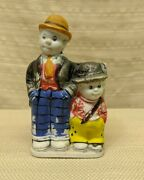 Moon Mullins And Kayo 5 Bisque Toothbrush Holder F.a.s. Japan Vintage Comic