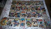 Marvel Dc Bronze Age Comic Collection Ghost Rider Werewolf Dracula Swamp Thing