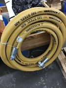 2andrdquo Air Hose X 50 Feet Rated 600 Psi 2andrdquomnpt Fixed X 2andrdquofemale Swivel Connector