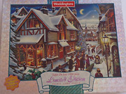 The Night Before Christmas - Limited Edition 1000 Piece Double Sided Puzzle